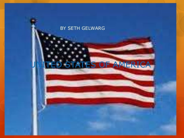 BY SETH GELWARGUNITED STATES OF AMERICA
