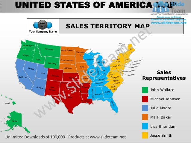 Usa Country Editable Powerpoint Maps With States And Counties Templat - Us map editable in powerpoint