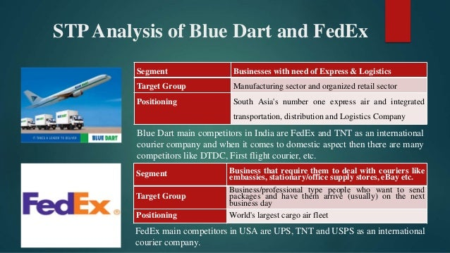 Comparative Analysis of Operational Work Aspects of FedEx-USA and Blu…