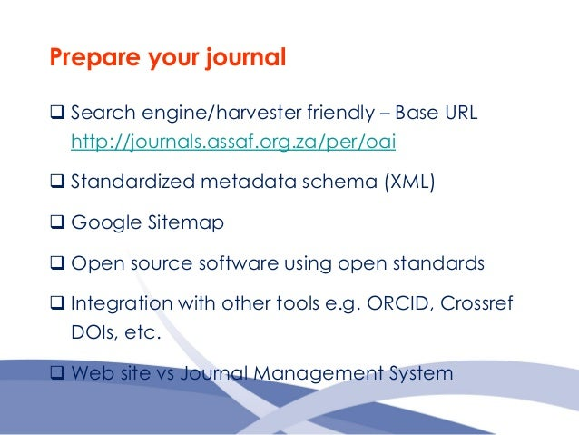monitoring evaluating the usage of your open access journal