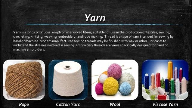 Threads And Fibers Mail: Usage Of Yarn,fabric,fiber