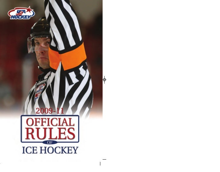 THE OFFICIAL  RULES OF ICE HOCKEY