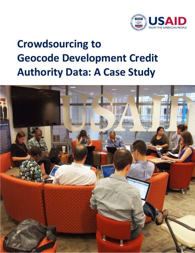 crowdsourcing case study