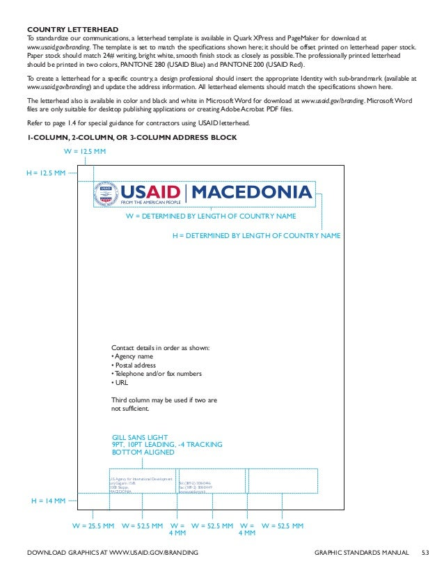 usaid success story template