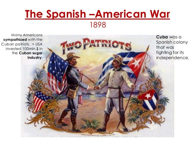 The spanish american war of 1898