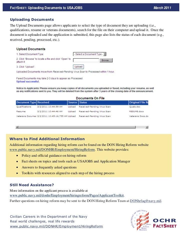 usa jobs info