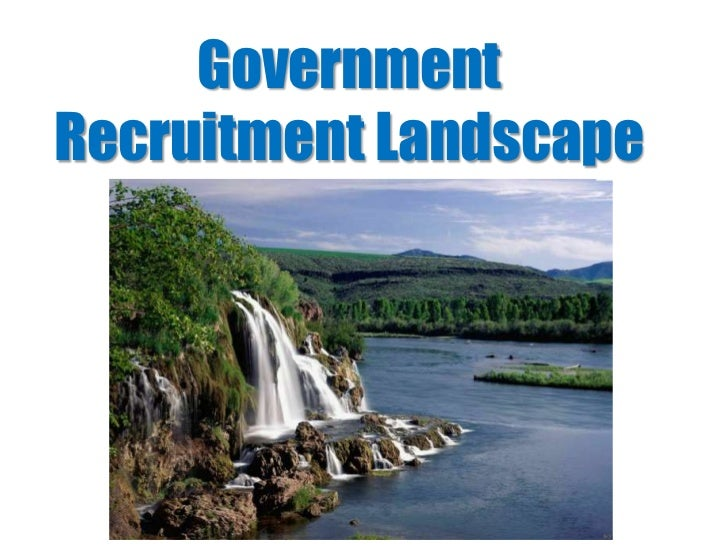 Government Recruitment Landscape <br />