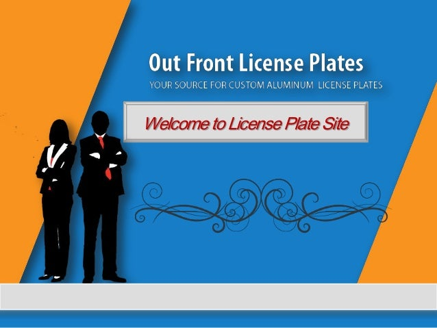 Welcome to License Plate Site