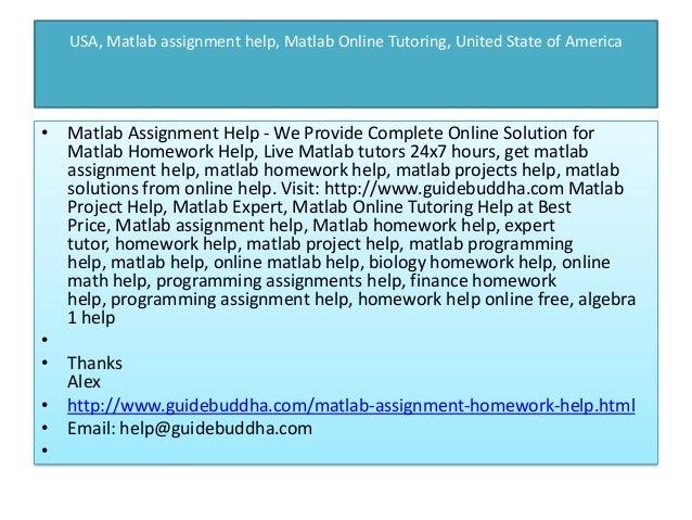 usa matlab assignment help matlab homework help expert tutor home   5 usa matlab