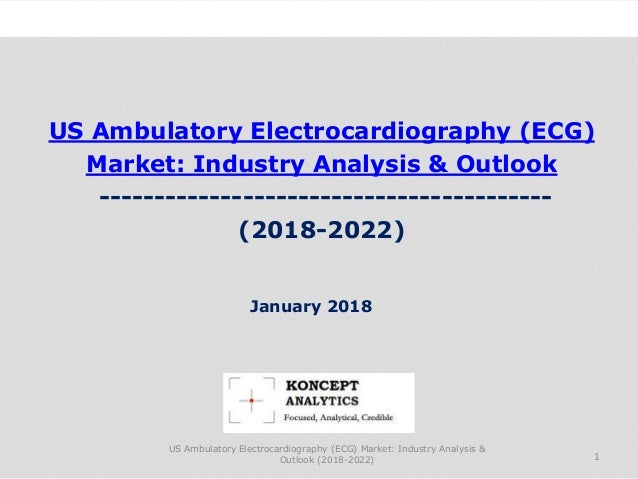 US Ambulatory Electrocardiography (ECG) Market: Industry Analysis & Outlook ----------------------------------------- (201...