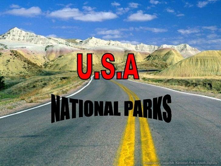 U.S.A NATIONAL PARKS