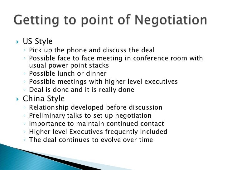 maintaining relationship in negotiation