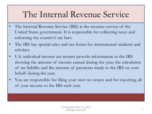 Tax Guide For International Students