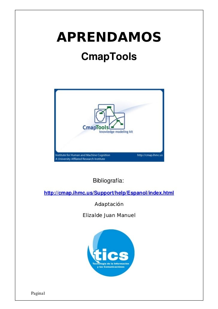 APRENDAMOS                     CmapTools                              Bibliografía:        http://cmap.ihmc.us/Support/he...