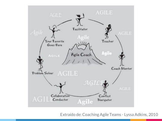 Extraído de: Coaching Agile Teams - Lyssa Adkins, 2010