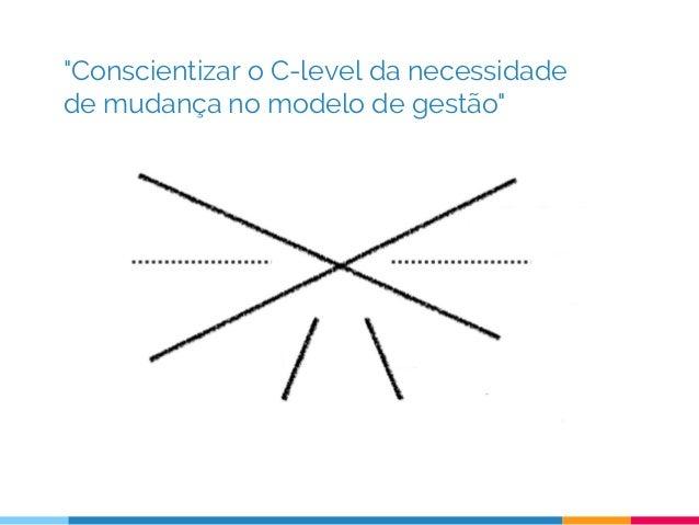 """""""Conscientizar o C-level da necessidade de mudança no modelo de gestão"""""""