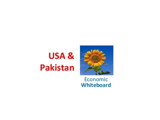 USA & Pakistan Economic Whiteboard
