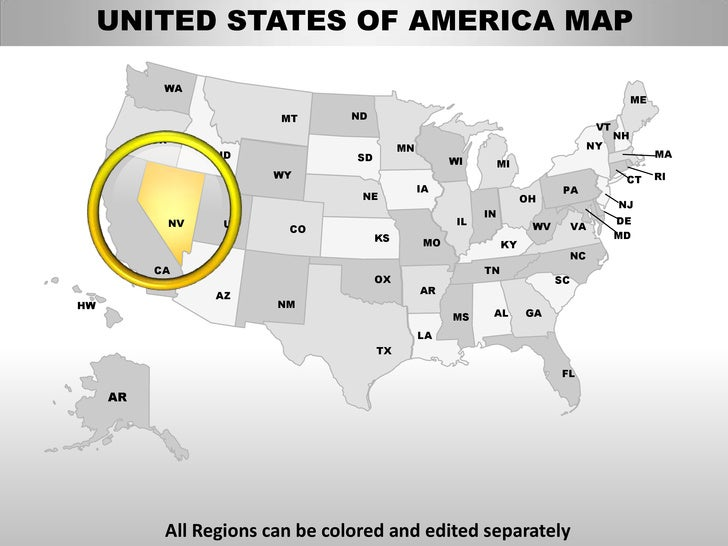 editable united states map powerpoint