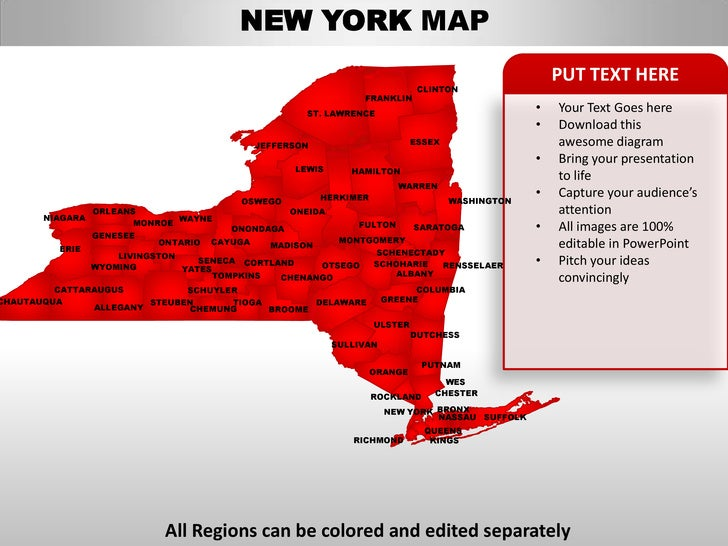 Map of all casinos in new york state