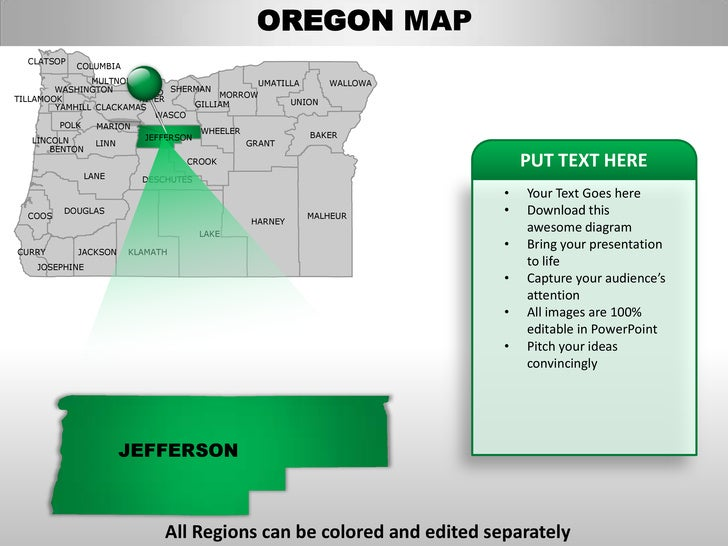 Oregon state powerpoint template