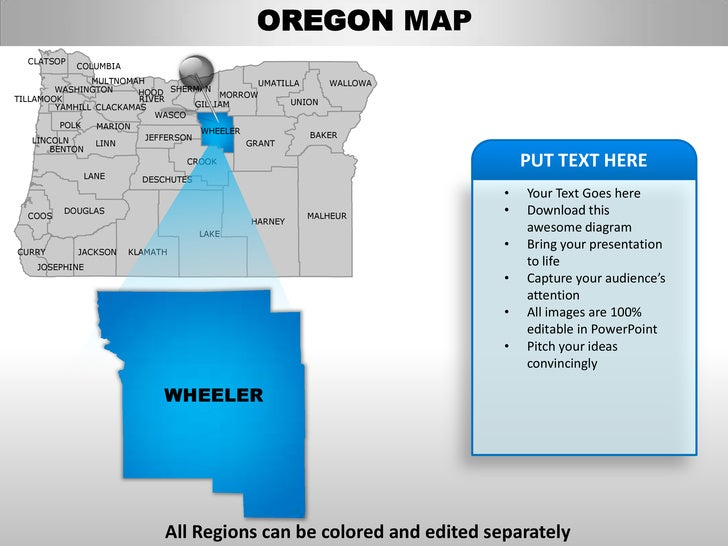 oregon state powerpoint template - 28 images - us state oregon, Modern powerpoint