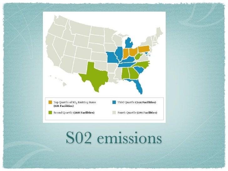 S02 emissions