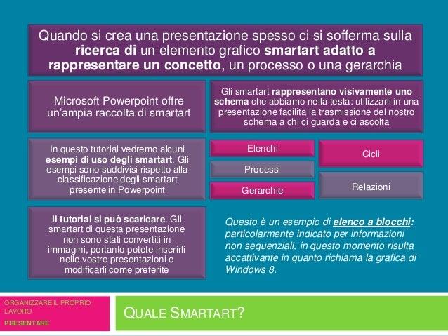 Quale smartart? Slide 2