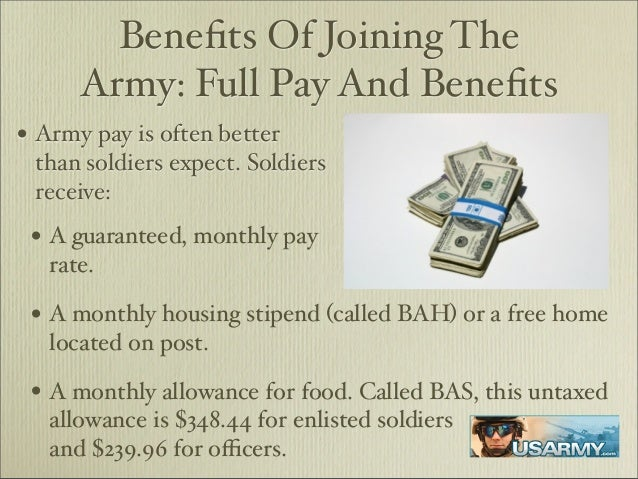 Benefits of the Army