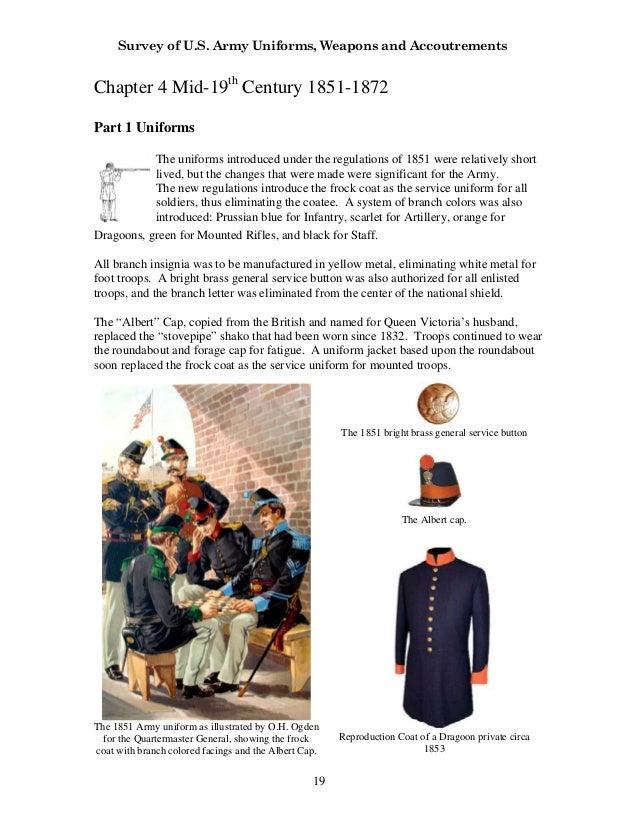 Survey of U S  Army Uniforms