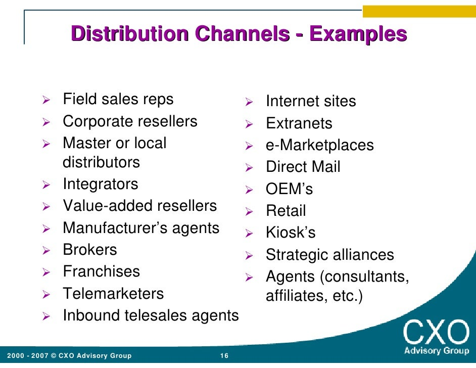 USA Sales & Distribution Strategies Strategies