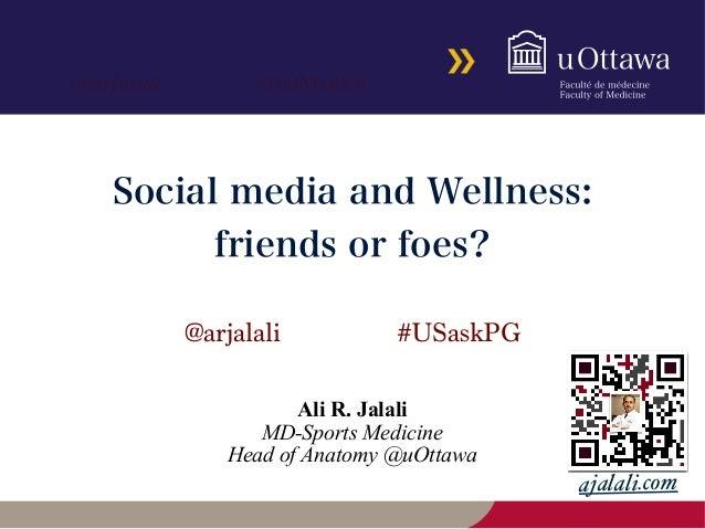 #DalMedEd@arjalali ajalali.com @arjalali #USaskPG Ali R. Jalali MD-Sports Medicine Head of Anatomy @uOttawa Social media a...