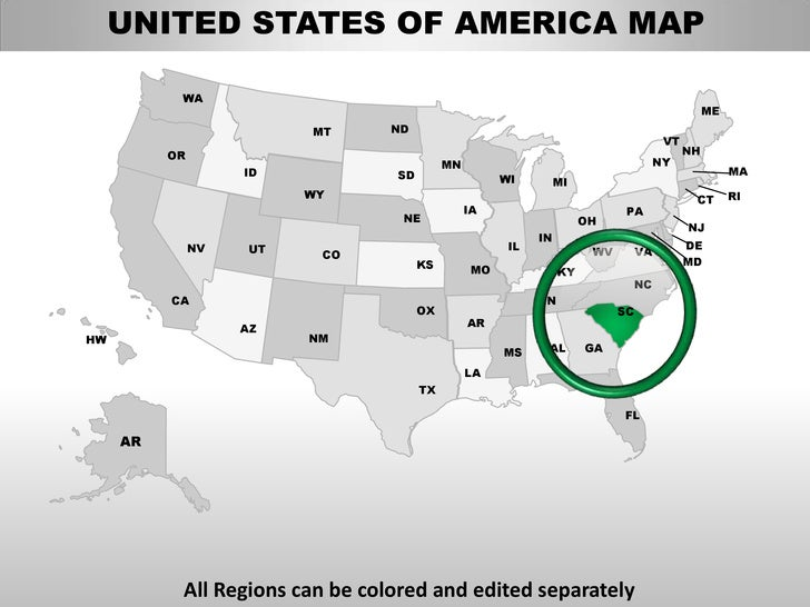us map ppt