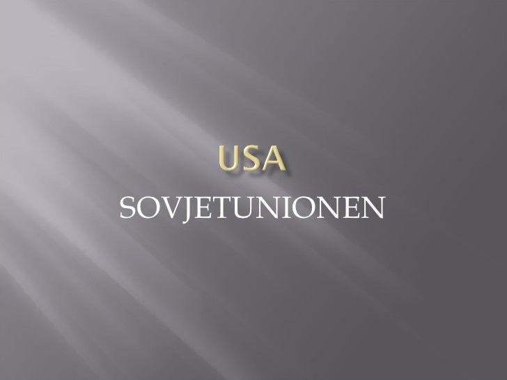 SOVJETUNIONEN