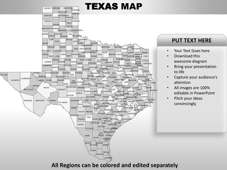 us map editable in powerpoint