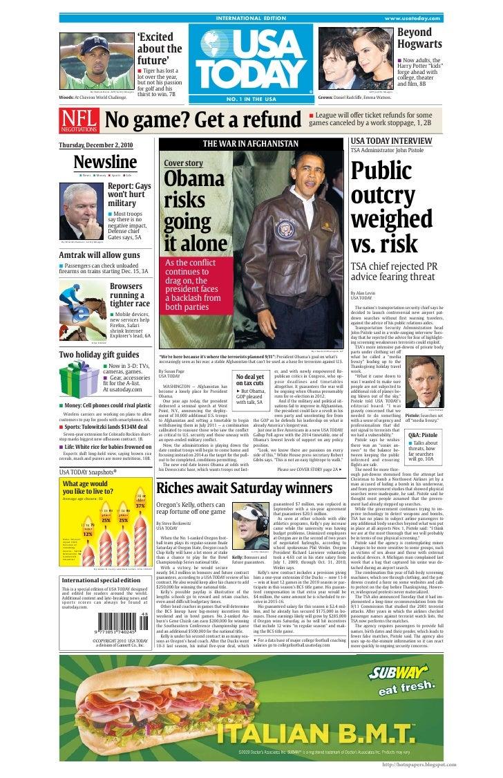 Usa today international edition 2010.12.02 usa