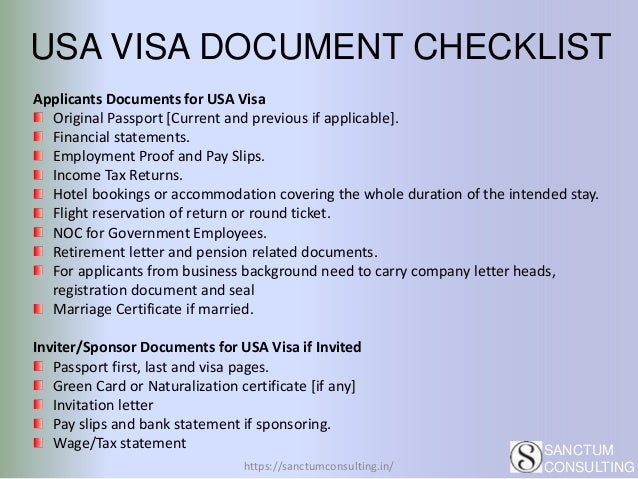 USA Tourist Visa Documents | Process and Places to Visit