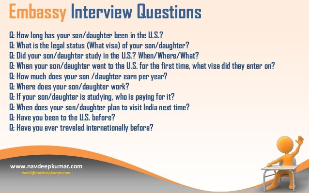 USA Tourist Visa Interview Questions – Interview Question