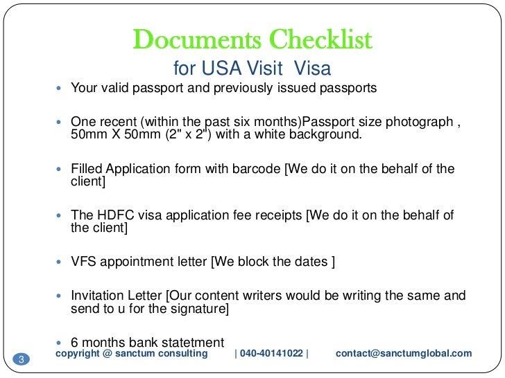 USA visit visa sanctum consulting
