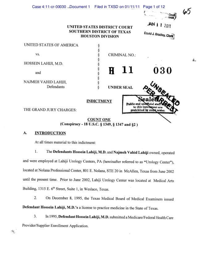 Indictment Records - govt-files.com