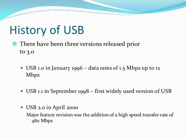 """USB 3.0 Now On Nov 17,2008 It was Developed It is called as """"SUPER SPEED"""" Technology Transfer Mode of Up to 4.8 Gbps"""