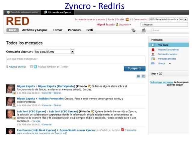 Zyncro - RedIris