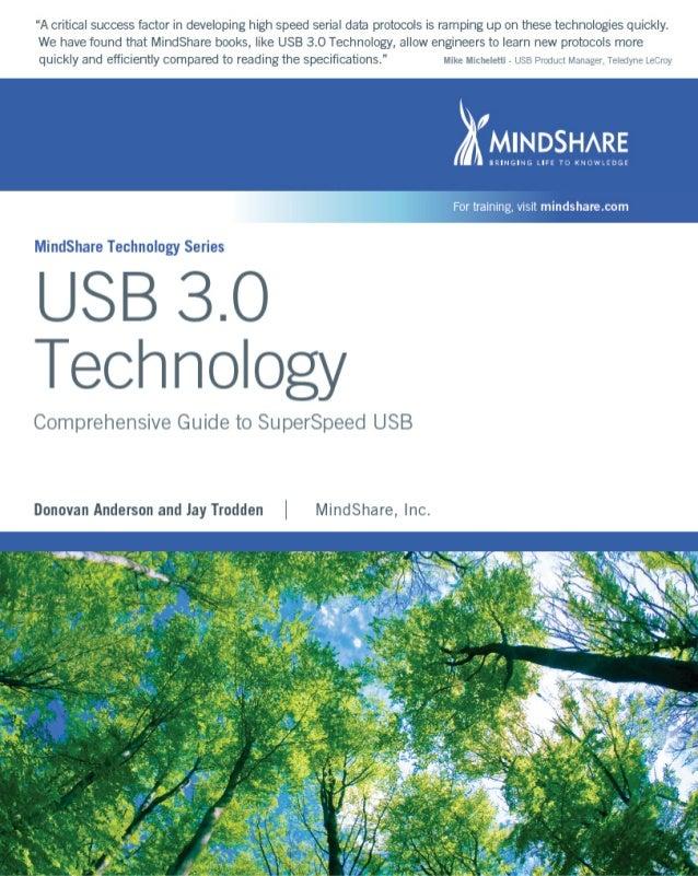 USB 3.0 TECHNOLOGY MINDSHARE, INC. Donovan (Don) Anderson Jay Trodden