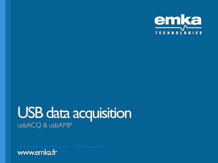 USB data acquisition