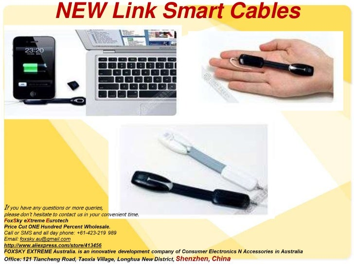 NEW Link Smart Cables