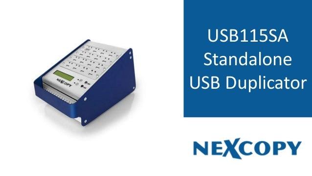 USB115SA Standalone USB Duplicator