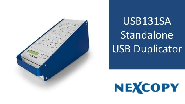 USB131SA Standalone USB Duplicator
