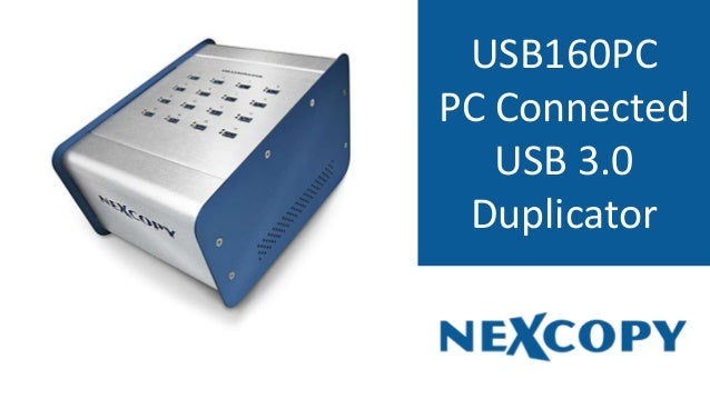 USB160PC PC Connected USB 3.0 Duplicator