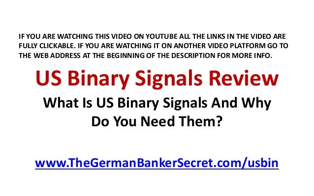 signals review