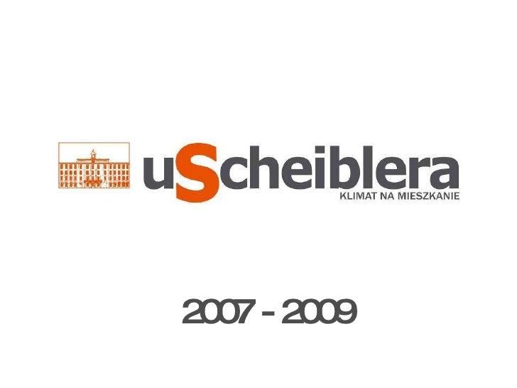 2007 - 2009