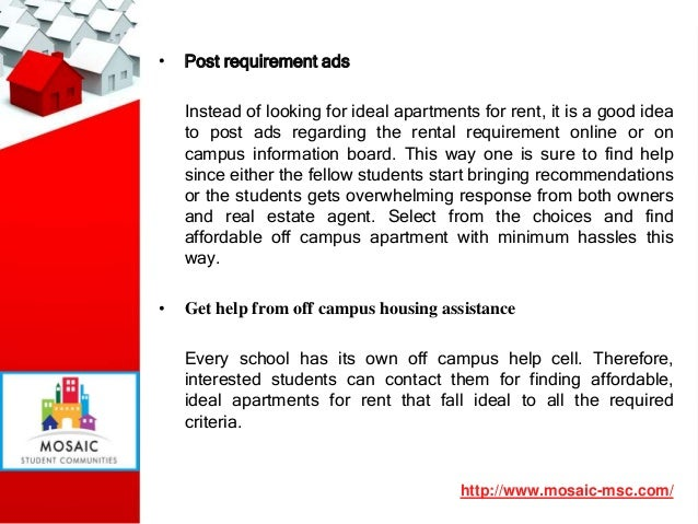 ... 5. U2022 Post Requirement Ads Instead Of Looking For Ideal Apartments For  Rent ...